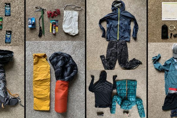 Badger's Wind River High Route Gear List