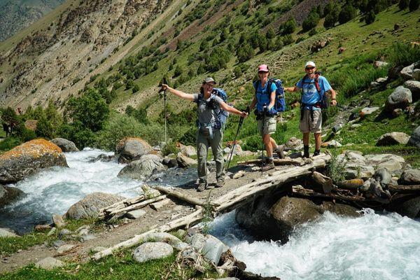 Trekking Kyrgyzstan's Heights of Alay Loop, Day 2