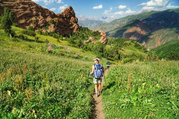 Trekking Kyrgyzstan's Heights of Alay Loop, Day 3