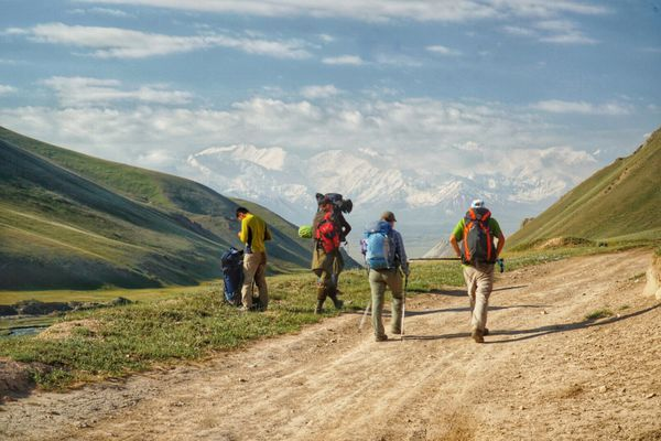 Trekking Kyrgyzstan's Heights of Alay Loop, Day 6