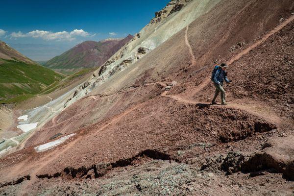 Trekking in the Shadow of Kyrgyzstan's Peak Lenin, Day 1