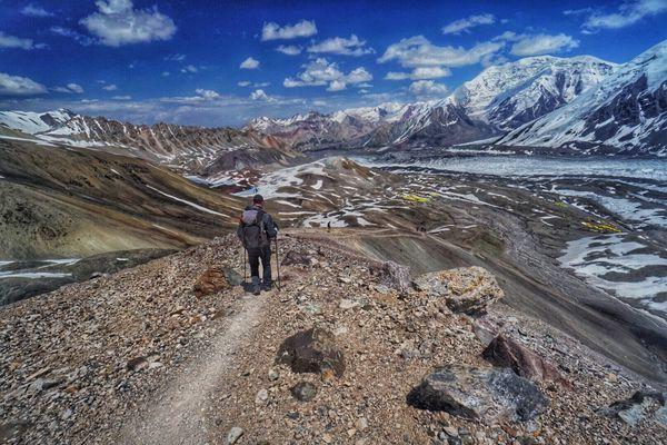 Trekking in the Shadow of Kyrgyzstan's Peak Lenin, Day 4