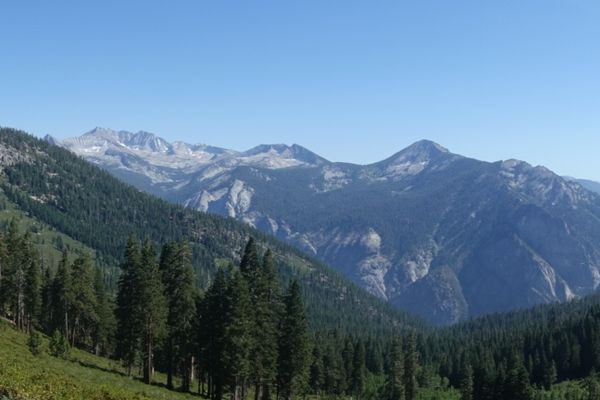 A Solo Journey, Stepping off Trail, Getting Lost – Sierra High Route, Day One