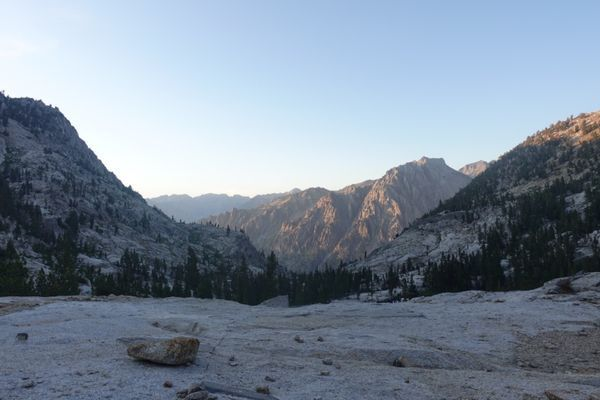 Going 0.75 Miles an Hour – Sierra High Route – Day 2