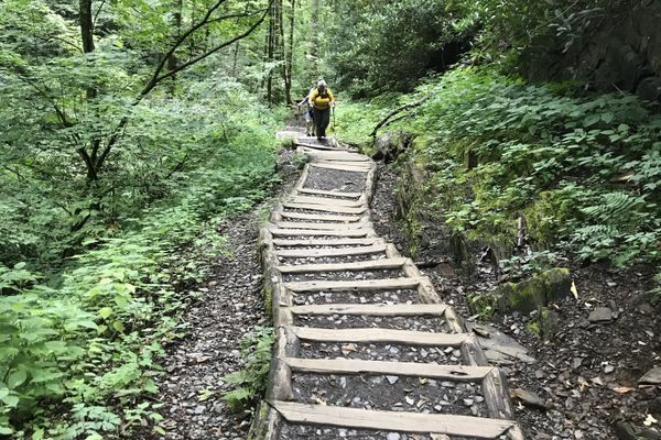 Physical and Mental Prep on All-Natural Stairs