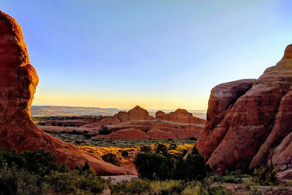 Hiking Moab Parks
