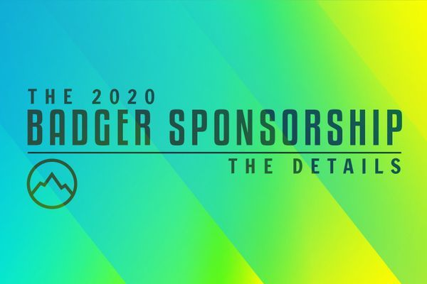 Announcing the 2020 Badger Sponsorship