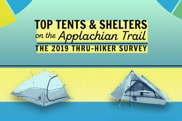 2019 Appalachian Trail Thru-Hiker Survey: Top Tents and Shelters