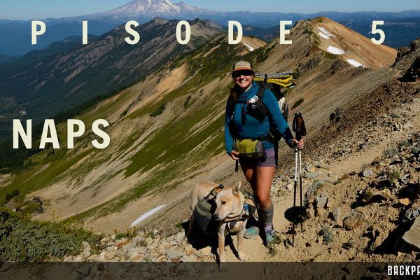 Backpacker Radio 59: Wild Amanda AKA Naps on Thru-Hiking the PCT with a Dog, Murphy's Law, and The Sunshine Coast Trail