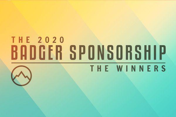 Introducing the 2020 Badger Sponsorship Winners