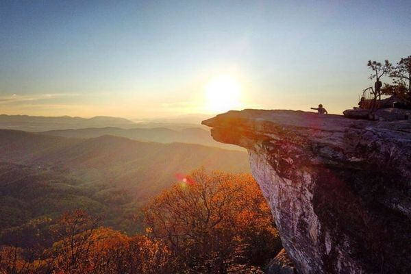 Footbridge Planned for AT Highway Crossing Near McAfee Knob