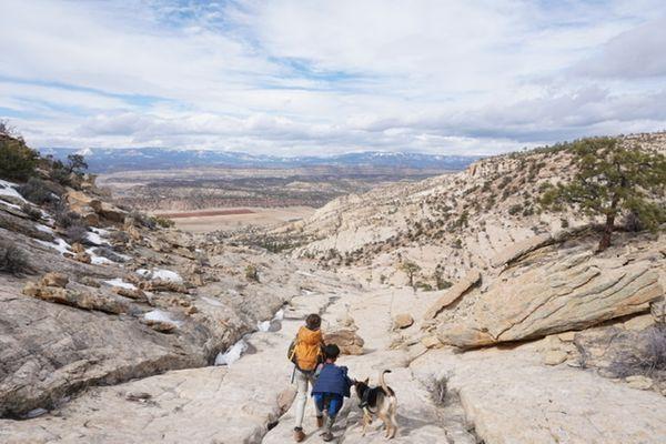 Boulder Mail Trail: Walking History