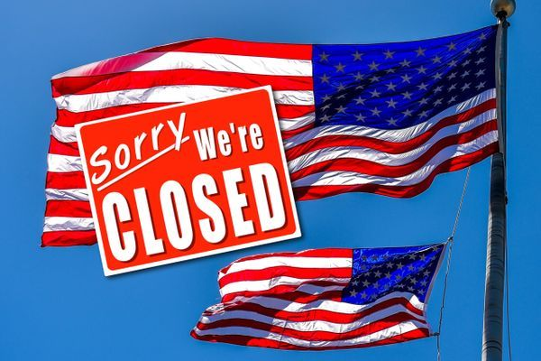 The USA Is Closed!