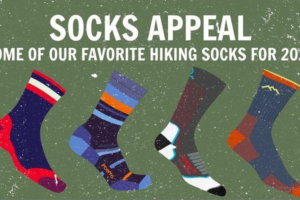 Socks Appeal: 8 of Our Favorite Backpacking Socks for 2020