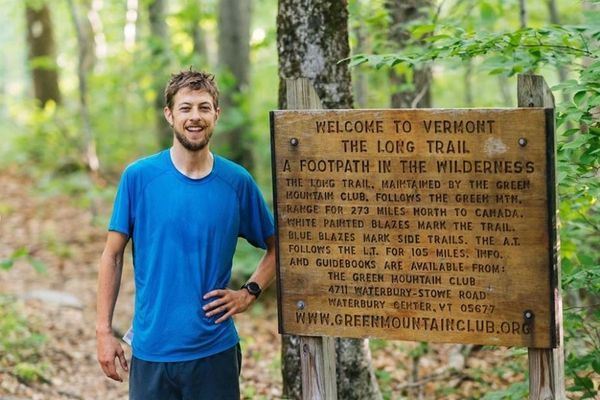 """Joe """"Stringbean"""" McConaughy Sets the Self-Supported Long Trail FKT"""