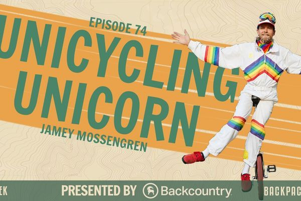 "Backpacker Radio 74 | Jamey Mossengren aka ""The Unicycling Unicorn"""