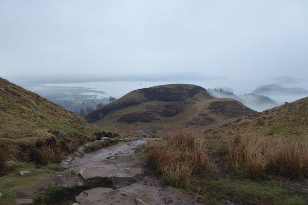 Enter the Scottish National Trail