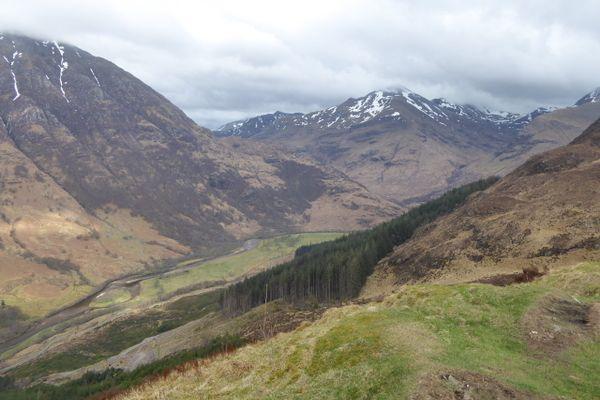 Scotland, the Poor Hiker's Friend