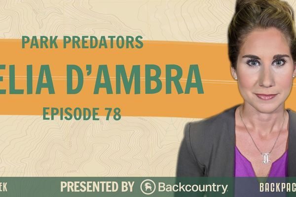 Backpacker Radio 78 | Delia D'Ambra of Park Predators