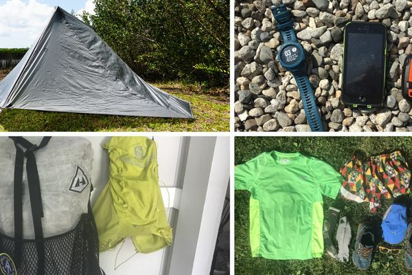 White Mountains Direttissima FKT Gear List