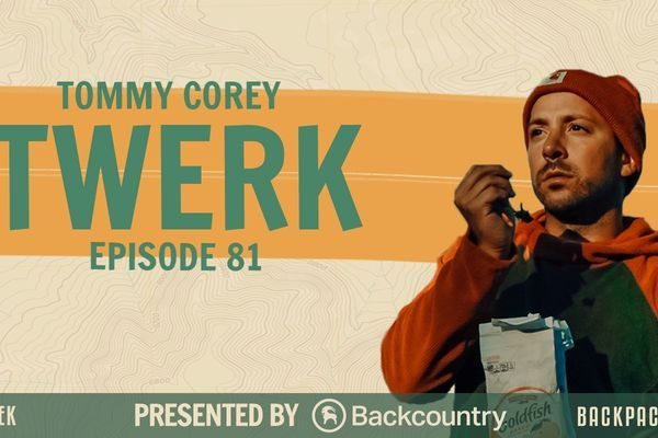"Backpacker Radio 81 | Tommy Corey aka ""Twerk"" of Hiker Trash Vogue"