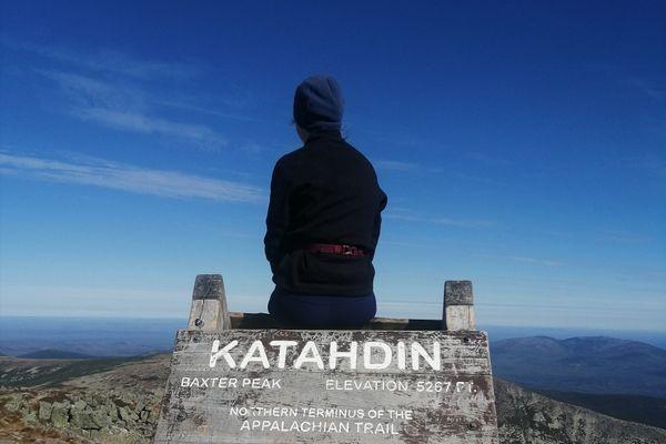 I'm Climbing Katahdin Today