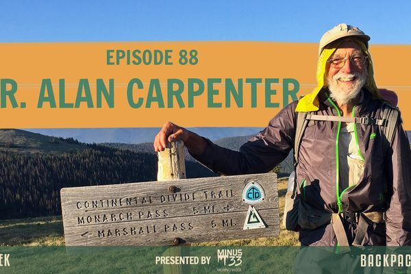 Backpacker Radio 88 | Dr. Alan Carpenter