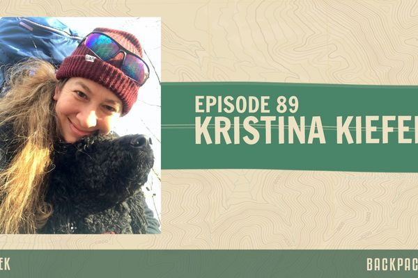 Backpacker Radio 89 | Dr. Kristina Kiefer on Backpacking with a Dog