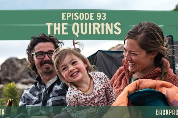 Backpacker Radio 93 | The Quirins on Thru-Hiking the AT with a Baby