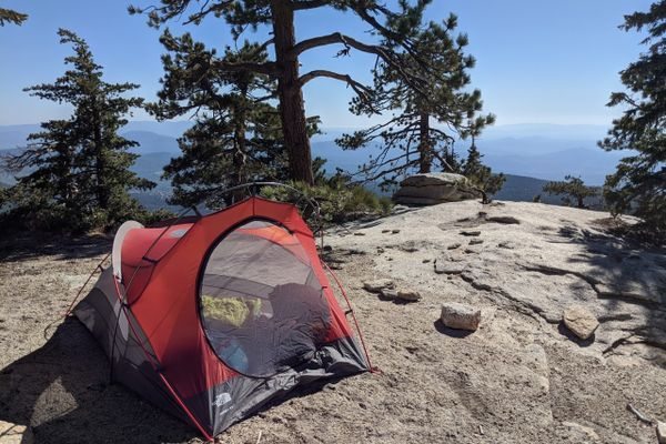 Downsizing: From a Condo to a Van and now a Tent