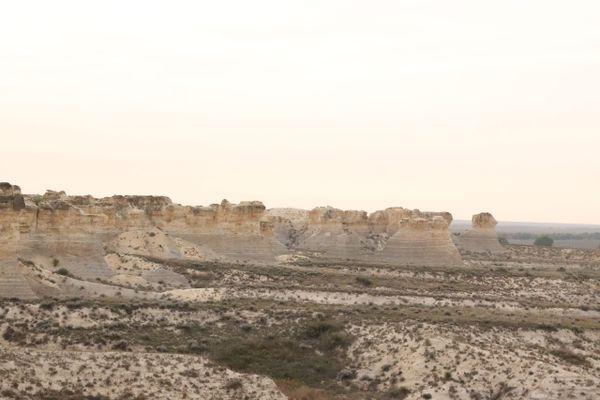 Little Jerusalem Badlands: Testing New Tents in New Parks