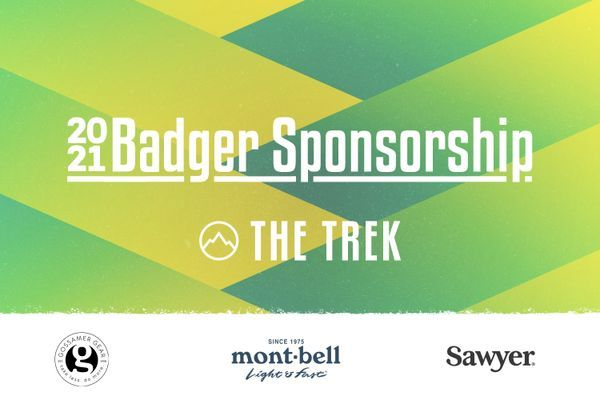 Announcing the 2021 Badger Sponsorship: A +$20,000 Gear Giveaway to Benefit the National Scenic Trails