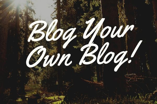 Blog Your Own Blog