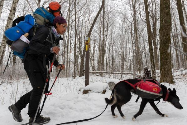 Emily Ford Completes Historic Winter Thru-Hike of Ice Age Trail