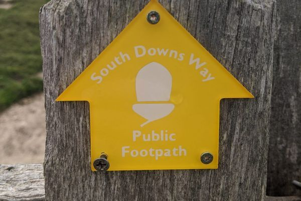 A Trio of English Walks Part 3: The South Downs Way