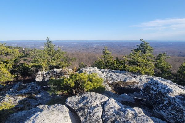 PCT Shakedown Hike on The Shawangunk Ridge Trail