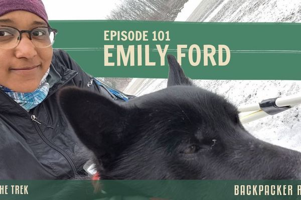 Backpacker Radio 101 | Emily Ford on Thru-Hiking the Ice Age Trail in Winter