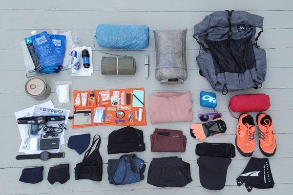 2021 PCT Thru-Hiker Gear Breakdown