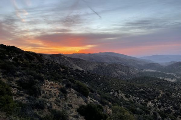 Pacific Crest Trail Day 8: Morning, Geographic Diversity, and People
