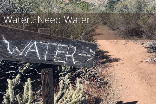 Water… Need Water