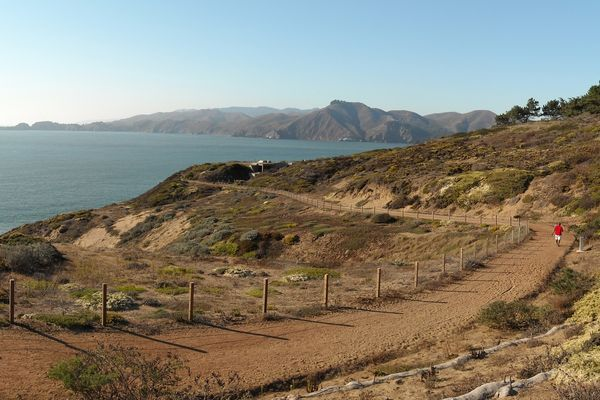 1,230 Mile California Coastal Trail 70% Complete According to New Map