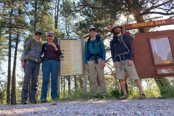 South Dakota Centennial Trail Days 0 & 1