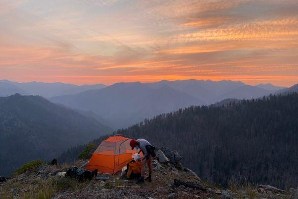 Fire On The Mountain (Days 102 to 113, Mt Shasta to Ashland)