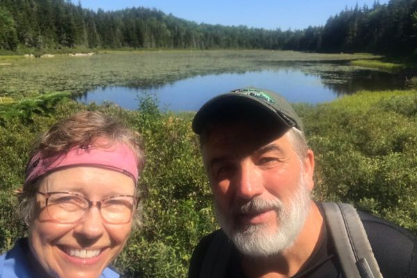 A Trip Down Memory Trail:    My NOBO Route in Maine by Vehicle 2019 vs. on Foot in 2021