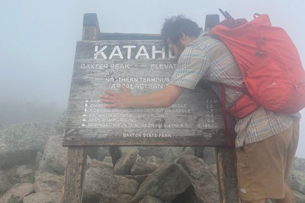 Climbing Mt Katahdin, the Finale; AT Day 134