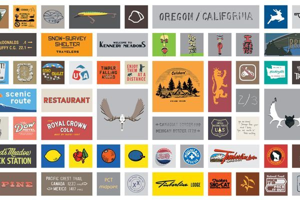 A Graphic Designer's View of The PCT (Book Preview)