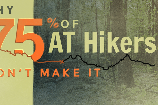 Why 75% of AT Thru-Hikers Won't Make It (Spoiler: It's Complicated)