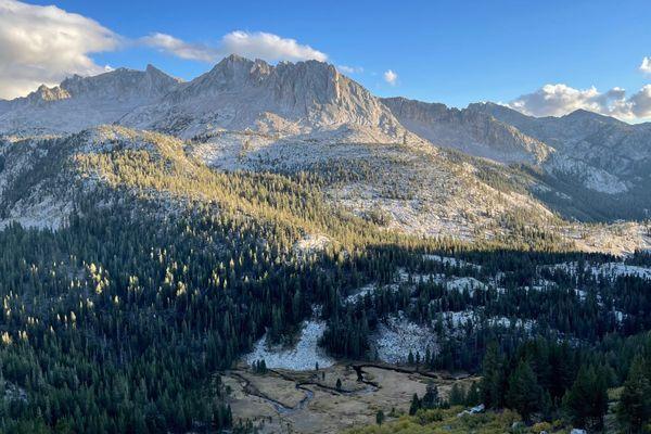 Finishing the Sierras!